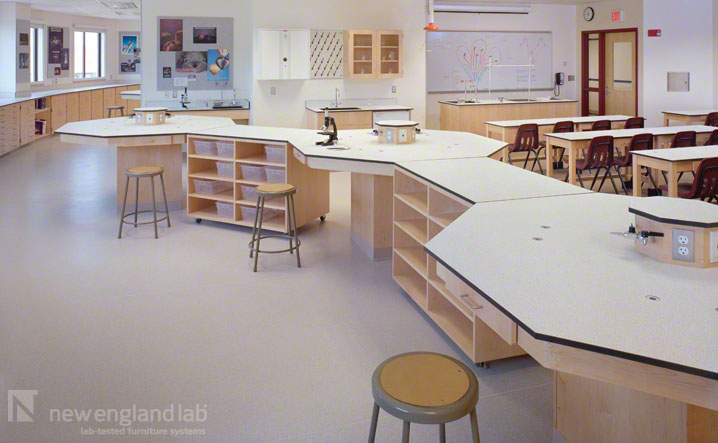 Lab Furniture Concept New Dexter School  Clay Science Center  Portfolio  New England Lab . Design Ideas