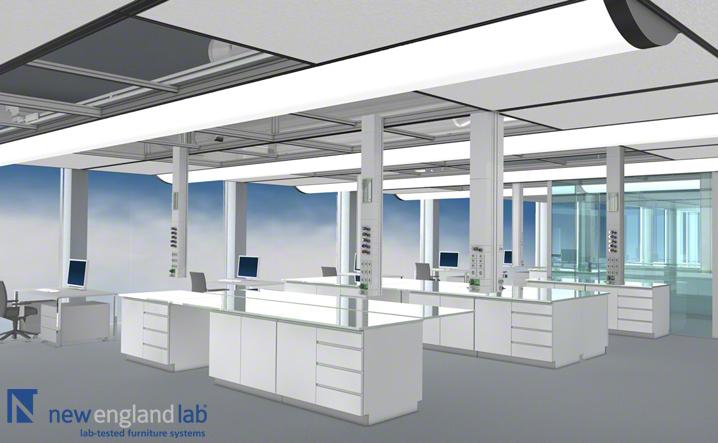 Hl X Cube Lab Media Ceilings New England Lab