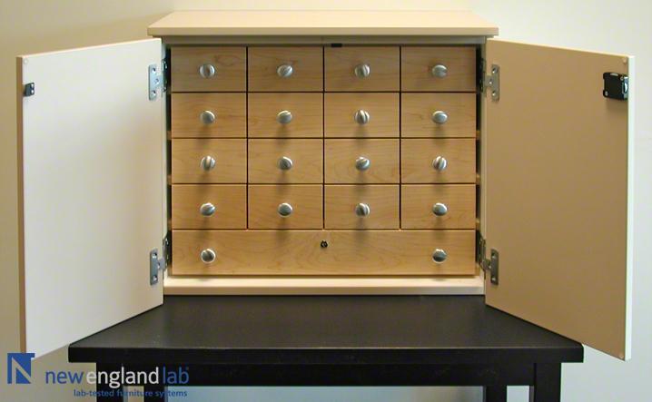 Plastic Laminate Narcotics Cabinet 03