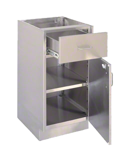 stainless steel casework | lab casework | New England Lab