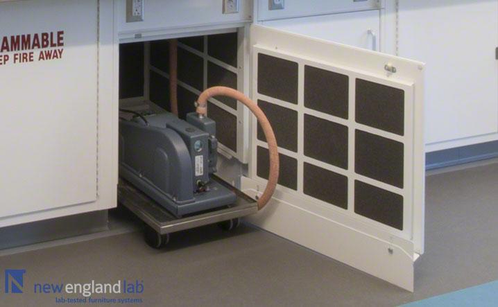 Vacuum Pump Cabinet 01