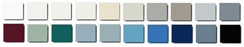 Machester & Wakefield Series - Painted Steel Metal Powder Coat Paint Colors - by Mott Manufacturing