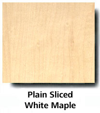 Plain Sliced White Maple