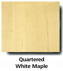 Quartered White Maple