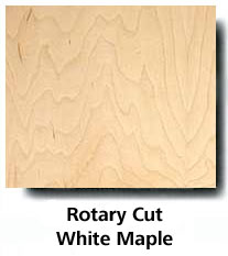Rotary Cut White Maple