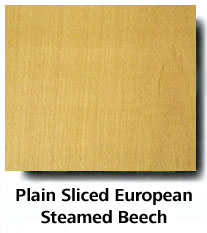 Plain Sliced European Steamed Beech