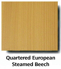 Quartered European Steamed Beech