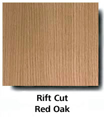 Rift Cut Red Oak