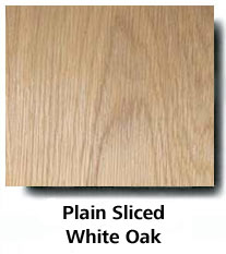 Plain Sliced White Oak