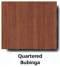 Quartered Bubinga