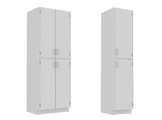 painted steel - tall floor cabinets thumbnail
