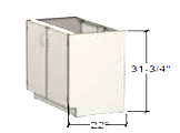 Polypropylene   Accessible Ht Base Cabinets (ADA)