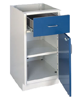 Manchester Series Painted Steel Casework - Lab Furniture